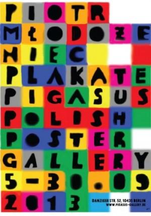 Piotr Mlodozeniec Posters Pigasus Piotr Młodożeniec Polish exhibition poster