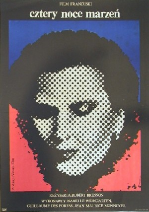 Four Nights of a Dreamer Robert Bresson Jacek Neugebauer Polish Poster