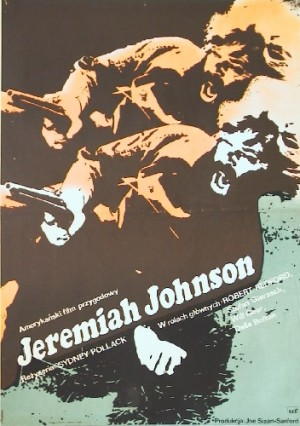 Jeremiah Johnson Sydney Pollack Jacek Neugebauer Polish Poster