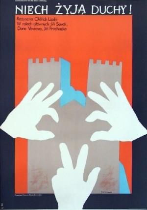 Long Live Ghosts Oldrich Lipsky Jacek Neugebauer Polish Poster