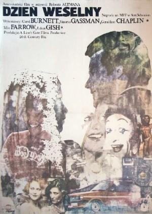 A Wedding Robert Altman Andrzej Pągowski Polish movie poster