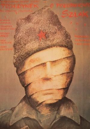 Battle for the Railway Zdravko Velimirovic Andrzej Pągowski Polish movie poster