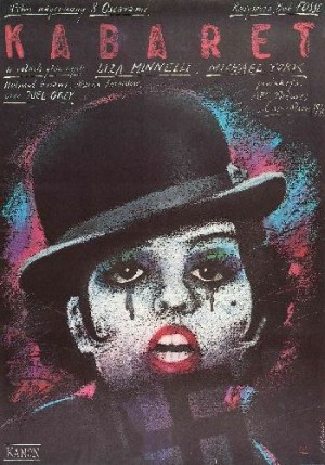 Cabaret Bob Fosse Andrzej Pągowski Polish movie poster