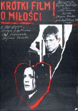 A Short Film About Love Krzysztof Kieslowski Andrzej Pągowski Polish movie poster