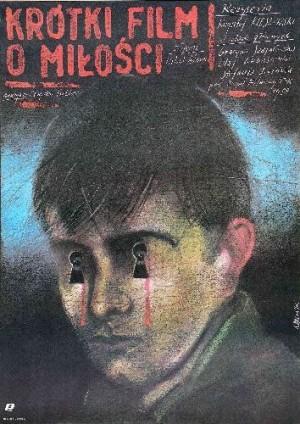 A Short Film About Love Krzysztof Kieślowski Andrzej Pągowski Polish movie poster