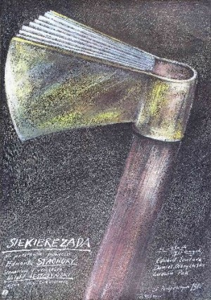 Axiliad Witold Leszczyński Andrzej Pągowski Polish movie poster