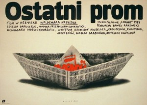 Last Ferry Waldemar Krzystek Andrzej Budek Polish movie poster