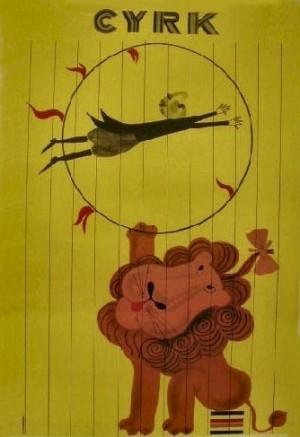 Circus Antoni Cetnarowski Polish circus poster