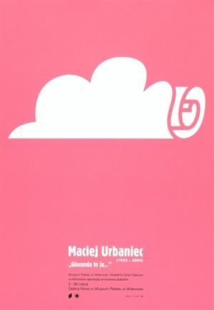 Maciej Urbaniec Gioconda, it's me Piotr Garlicki Polish exhibition poster