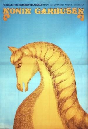 Humpbacked Horse Aleksandr Rou Wanda Jondziel-Banach Polish movie poster