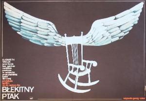 Blue Bird George Cukor Anna Mikke Polish Poster