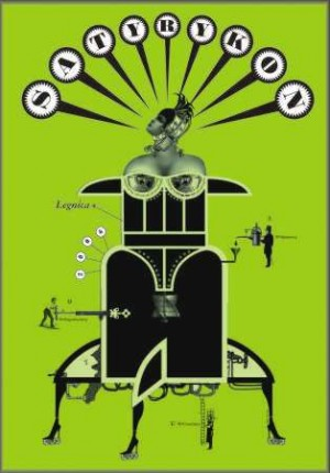 Satyrykon 2006 Bogna Otto-Wegrzyn Polish exhibition poster