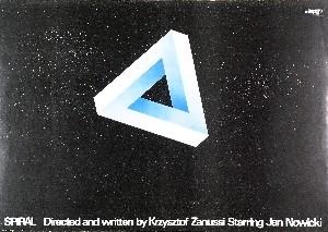 Spiral Krzysztof Zanussi Marek Freudenreich Polish movie poster