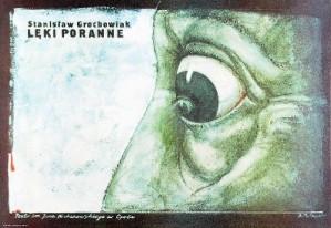 Morning Fear Bolesław Polnar Polish theater poster