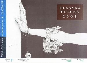 Opole Theatre Confrontations in Opole - 26th Bolesław Polnar Polish theater poster
