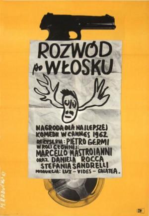 Divorce Italian Style Maciej Raducki Polish Poster