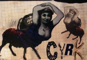 Circus Kaja Renkas Polish circus poster