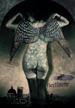 Wings of Desire Wim Wenders Kaja Renkas Polish movie poster
