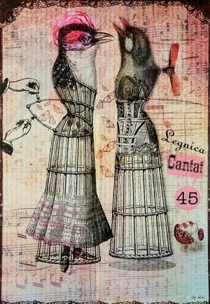 Legnica Canatat 45 Kaja Renkas Polish music poster
