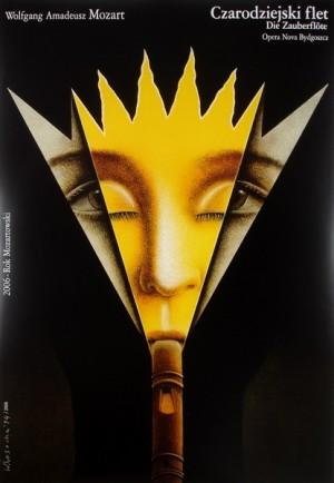 Magic Flute  Polish Poster