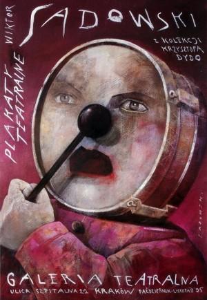Theater posters – exhibition Wiktor Sadowski Polish exhibition poster