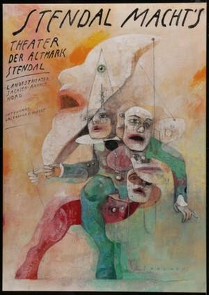 Stendal Macht´s  Polish Poster