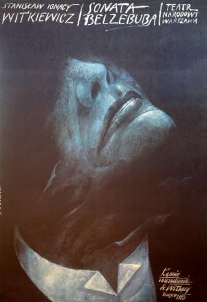 Beelzebub Sonata, Stanisław Ignacy Witkiewicz (Witkacy) Wiktor Sadowski Polish Poster