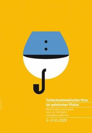 Czechoslovak Films in Polish Poster Joanna Górska Jerzy Skakun Polish movie poster