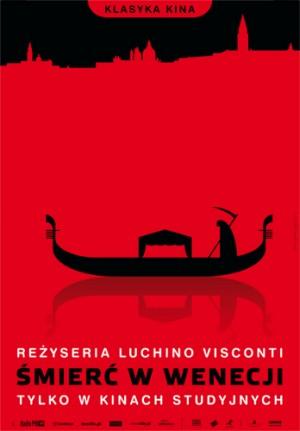 Death in Venice Luchino Visconti Joanna Górska Jerzy Skakun Polish movie poster