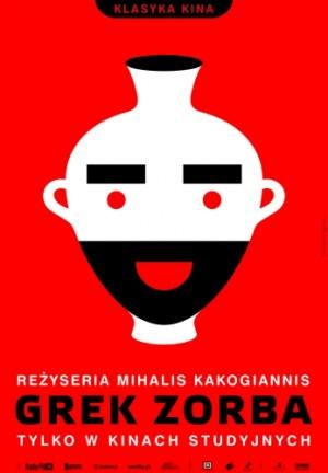 Alexis Zorbas Mihalis Kakogiannis Joanna Górska Jerzy Skakun Polish movie poster
