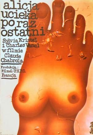 Alice or the Last Escapade  Romuald Socha Polish Poster