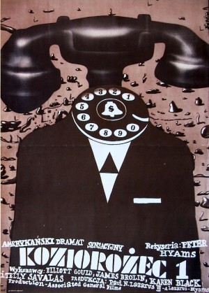 Capricorn One Romuald Socha Polish Poster