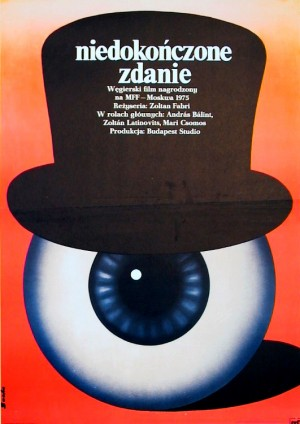 141 Minutes from the Unfinished Sentence Romuald Socha Polish movie poster