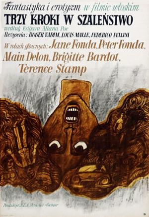 Tales of Mystery Federico Fellini, Louis Malle, Roger Vadim Marian Stachurski Polish movie poster