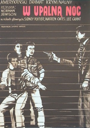 In the Heat of the Night Norman Jewison Marian Stachurski Polish movie poster