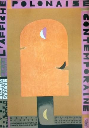 Affiche Polonaise, Hotel de Bourgtheroulde Monika Starowicz Polish exhibition poster