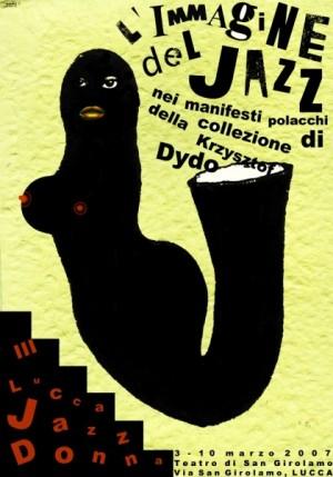 L Immagine del Jazz Monika Starowicz Polish music poster
