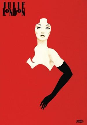 Julie London  Polish Poster