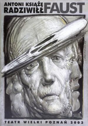 Faust Franciszek Starowieyski Polish Poster