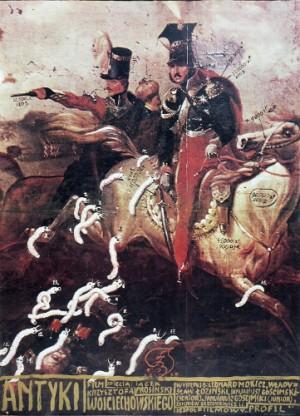 Antiques Krzysztof Wojciechowski Franciszek Starowieyski Polish movie poster