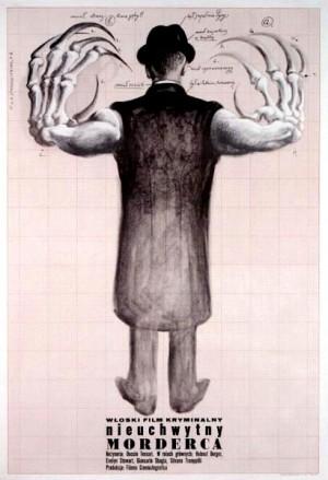 Bloodstained Butterfly Duccio Tessari Franciszek Starowieyski Polish movie poster