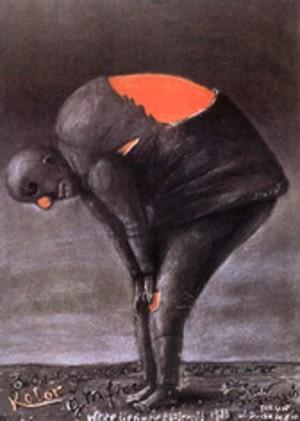 Color in Graphic Stasys Eidrigevicius Polish exhibition poster