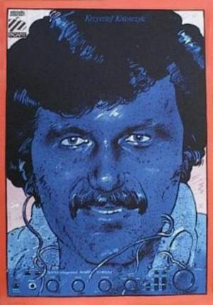 Krzysztof Krawczyk Waldemar Świerzy Polish music poster
