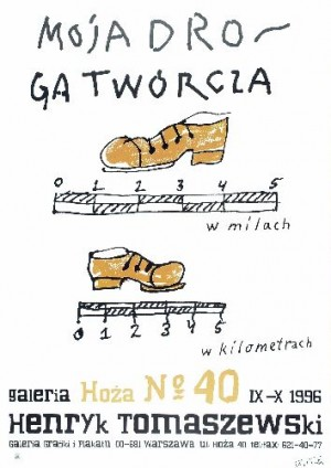 My way as artist Henryk Tomaszewski Polish Poster