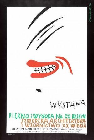 Beauty and Comfort Every Day Henryk Tomaszewski Polish Poster