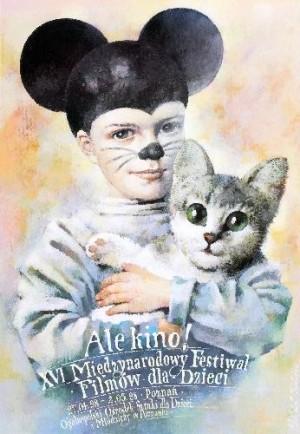 Ale Kino!, 16th Festival of Films for Children Wiesław Wałkuski Polish movie poster