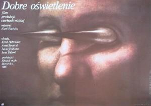 Dobre svetlo Karel Kachyna Wiesław Wałkuski Polish movie poster