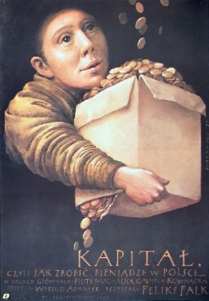Capital, or How to Make Money in Poland Wiesław Wałkuski Polish movie poster