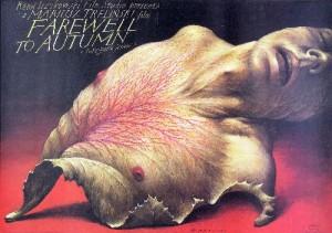 Farewell to Autumn Mariusz Treliński Wiesław Wałkuski Polish movie poster