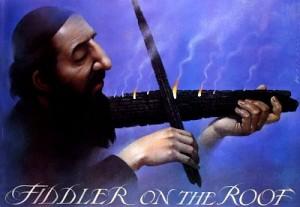 Fiddler on the Roof Norman Jewison Wiesław Wałkuski Polish movie poster